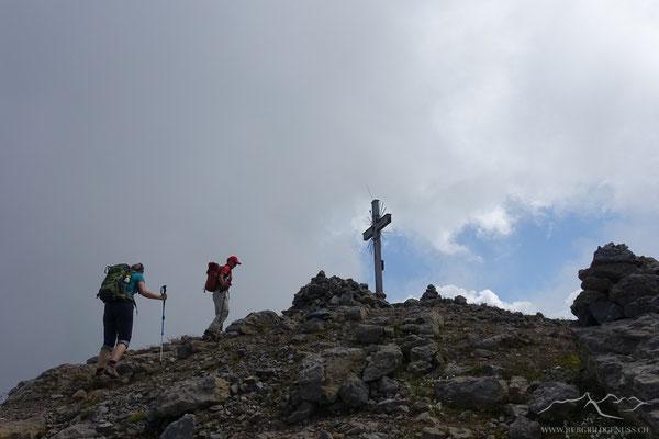 Die Münsteraner setzen zum Gipfelsturm an.