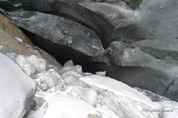In der Eishöhle...