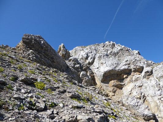 Abstieg vom Blüemberg