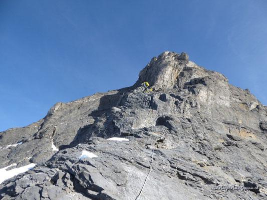 Abstieg über die Eigerjöcher