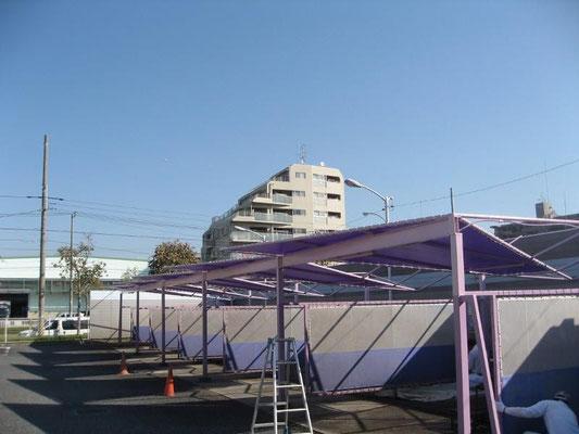 変形テント