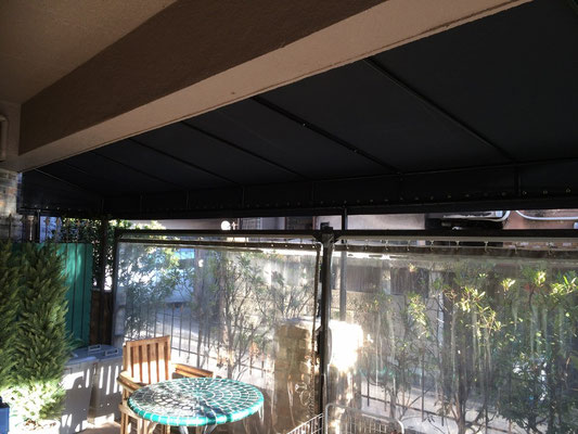 オープンテラステント+カーテン