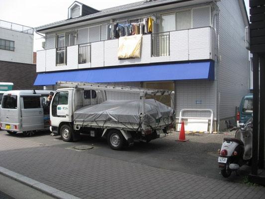 店舗・テント(鉄骨新規)