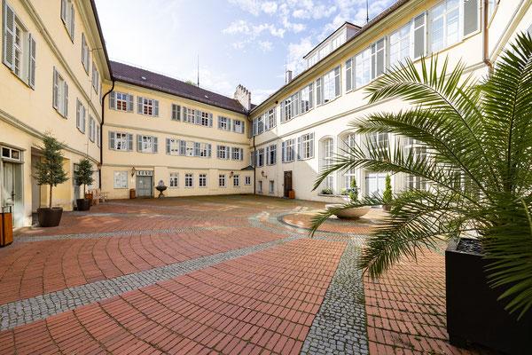 Gebäude und Räume des SAF Kirchheim - Der Schlossinnenhof