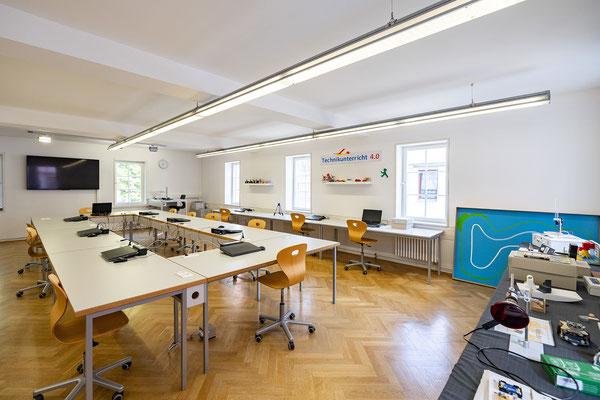 Gebäude und Räume des SAF Kirchheim - Elektrowerkstatt