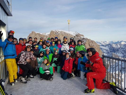 Lehrgänge am SEMINAR FÜR AUSBILDUNG UND FORTBILDUNG DER LEHKRÄFTE KIRCHHEIM: Wintersportlehrgang in Ehrwald - 4