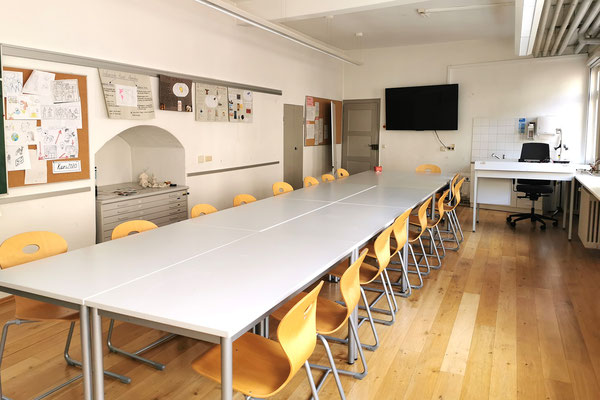 Gebäude und Räume des SAF Kirchheim - Fachraum 2 für Kunst