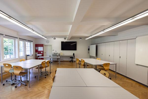 Gebäude und Räume des SAF Kirchheim - Fachraum für AuG