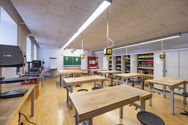 Gebäude und Räume des SAF Kirchheim - Holzwerkstatt
