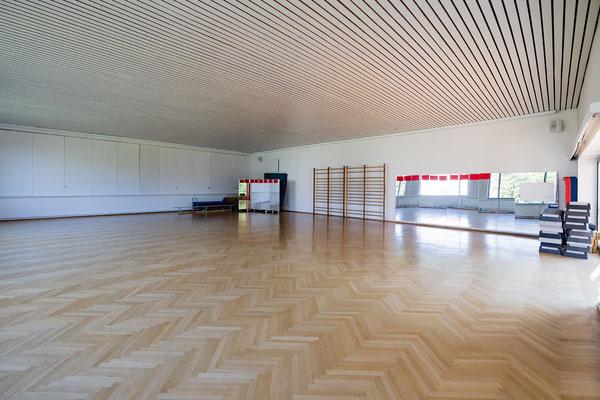 Gebäude und Räume des SAF Kirchheim - Gymnastikhalle
