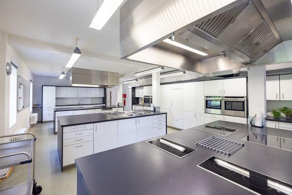 Gebäude und Räume des SAF Kirchheim - Küche