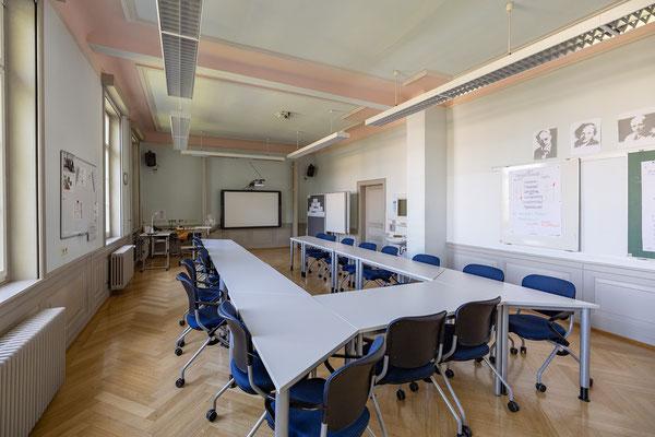 Gebäude und Räume des SAF Kirchheim - Fachraum für Pädagogik