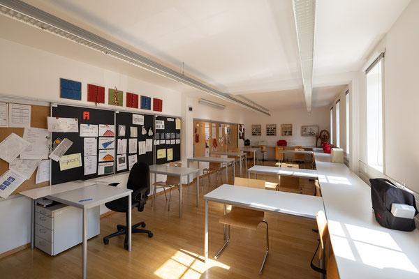 Gebäude und Räume des SAF Kirchheim - Handarbeit