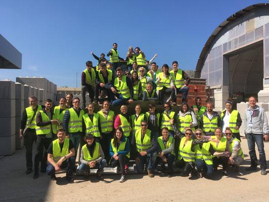 SAF Kirchheim - Bildung für nachhaltige Entwicklung - Besuch bei der Firma Fees