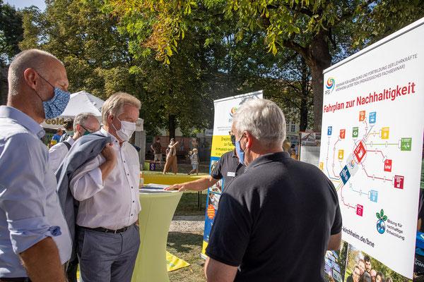 SAF Kirchheim - Bildung für nachhaltige Entwicklung - Infostand an den Nachhaltigkeitstagen der Stadt Kirchheim - 3