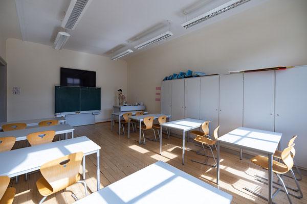 Gebäude und Räume des SAF Kirchheim - Fachraum für Sporttheorie