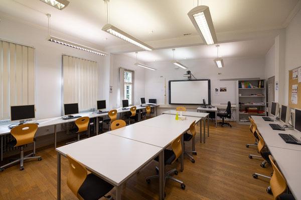 Gebäude und Räume des SAF Kirchheim - Computerraum 1