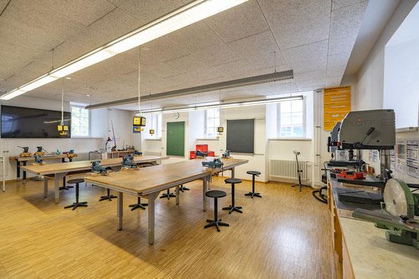 Gebäude und Räume des SAF Kirchheim - Metallwerkstatt
