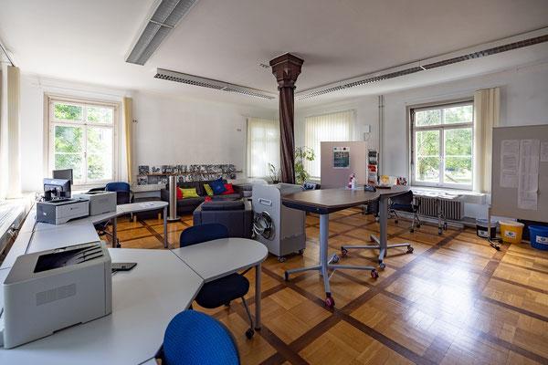 Gebäude und Räume des SAF Kirchheim - Lehrerzimmer