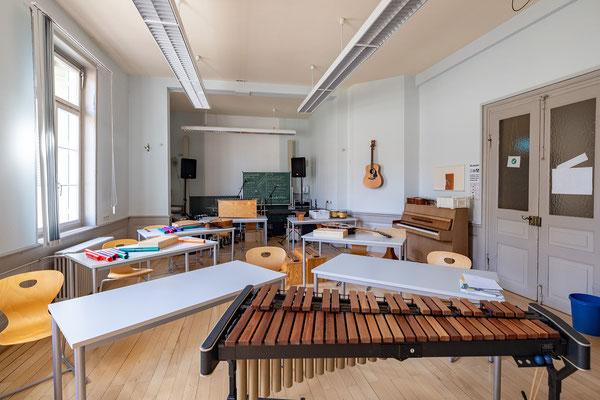 Gebäude und Räume des SAF Kirchheim - Fachraum für Musik 2
