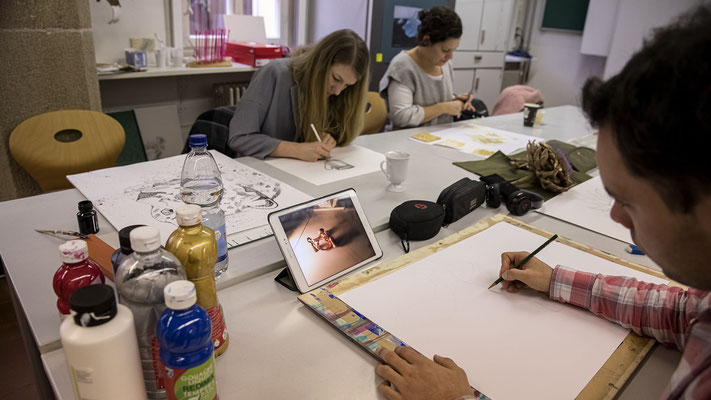 Fachlehrerausbildung für musisch-technische Fächer - Ausbildung im Fach Bildende Kunst - 1