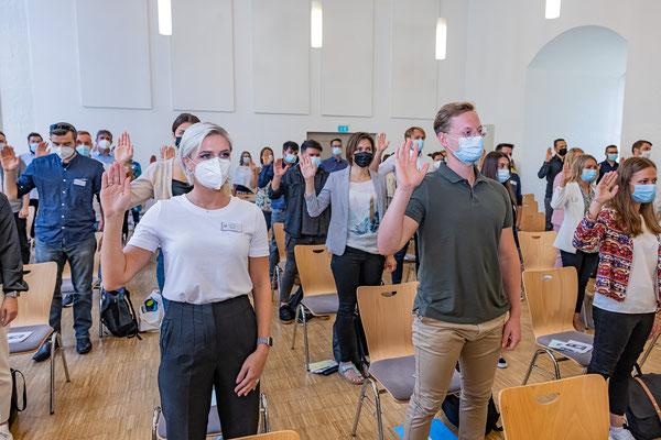 SAF Kirchheim - Vereidigung der neuen 1er Kurse am 14.09.2021 - 26