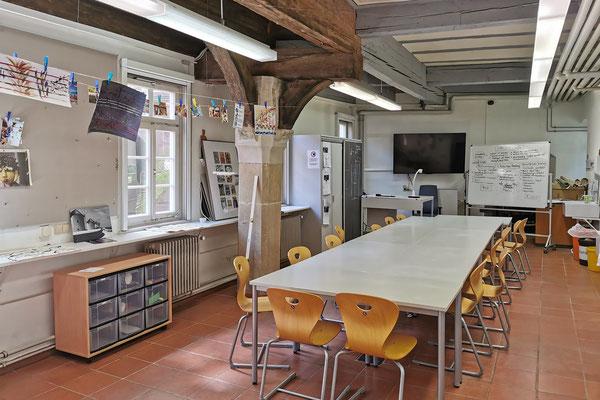 Gebäude und Räume des SAF Kirchheim - Fachraum 1 für Kunst