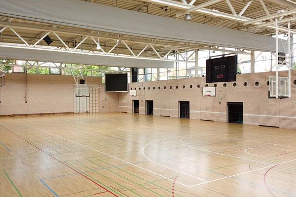 Gebäude und Räume des SAF Kirchheim - Sporthalle Stadtmitte