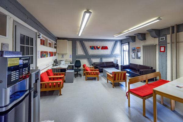 Gebäude und Räume des SAF Kirchheim - Aufenthaltsraum