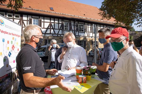 SAF Kirchheim - Bildung für nachhaltige Entwicklung - Infostand an den Nachhaltigkeitstagen der Stadt Kirchheim - 2