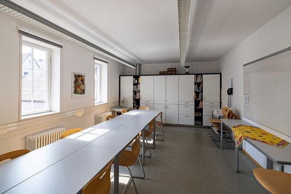 Gebäude und Räume des SAF Kirchheim - Theorie- und Speiseraum