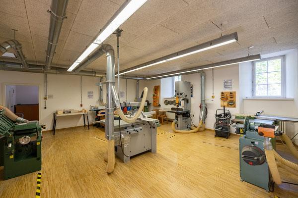 Gebäude und Räume des SAF Kirchheim - Maschinenraum