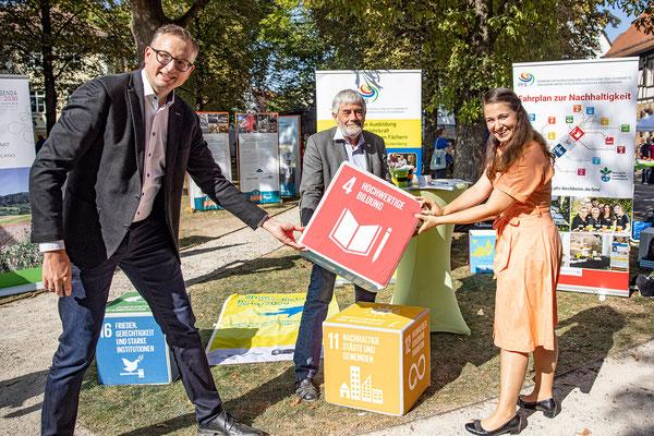 SAF Kirchheim - Bildung für nachhaltige Entwicklung - Infostand an den Nachhaltigkeitstagen der Stadt Kirchheim - 1