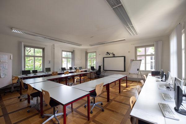 Gebäude und Räume des SAF Kirchheim - Fach raum für BOW und Pädagogik