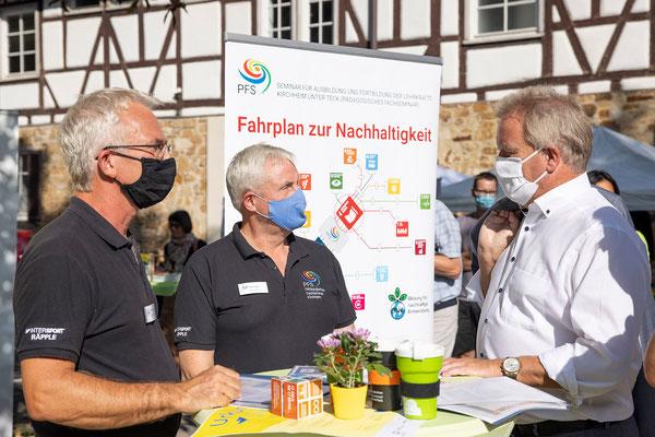 SAF Kirchheim - Bildung für nachhaltige Entwicklung - Infostand an den Nachhaltigkeitstagen der Stadt Kirchheim - 4