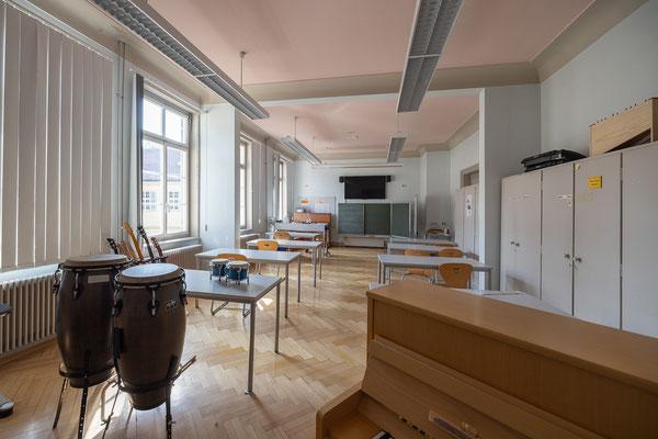 Gebäude und Räume des SAF Kirchheim - Fachraum für Musik 1