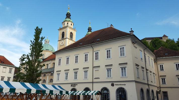 Stadtrundgang in Ljubljana. Foto Ulrichs