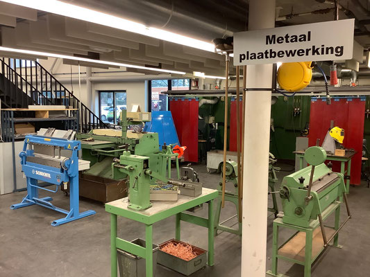Werkstätten im Stellingwerfcollege in Oosterwolde. Foto: Ulrichs