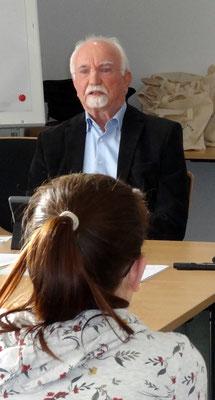 Bernhard Fokken warb für Leer und die Region. Foto: Ulrichs