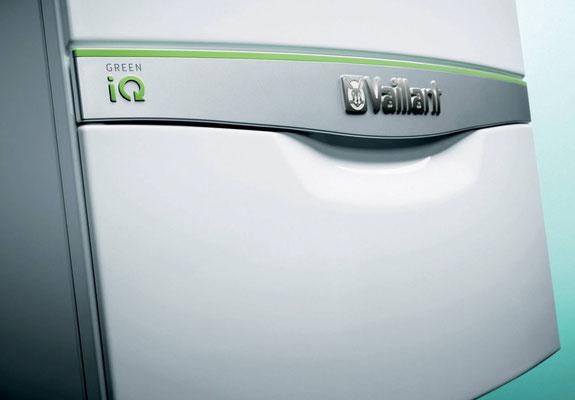 Vaillant Green IQ - Produkt - und Logodesign