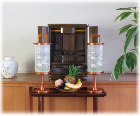 創作提灯とお仏壇