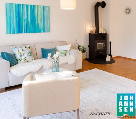 Home Staging Elena Johannsen Kiel Bad-Segeberg Schleswig-Holstein Raumgestaltung Wohnzimmer Haus