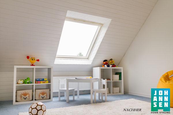 Home Staging Johannsen Kinderzimmer nachher