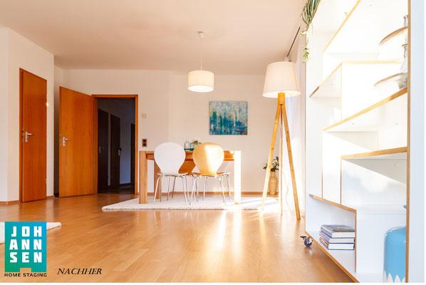 Home Staging Elena Johannsen Kiel Bad-Segeberg Schleswig-Holstein Raumgestaltung Essecke Doppelhaushälfte