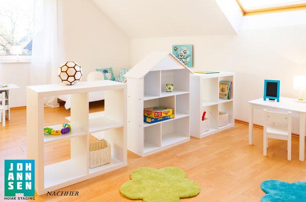 Home Staging Elena Johannsen Kiel Bad-Segeberg Schleswig-Holstein Raumgestaltung Kinderzimmer