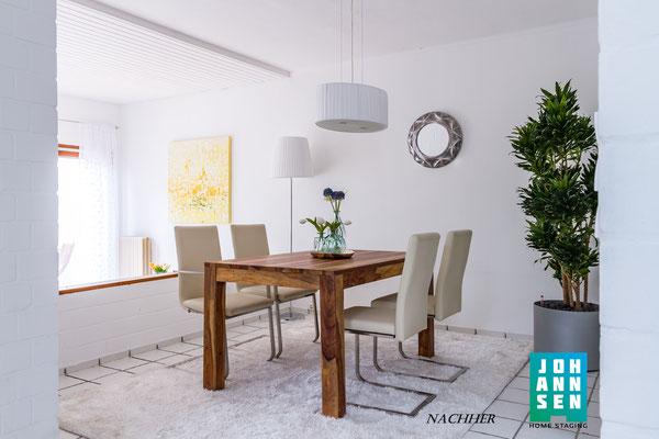 Home Staging Johannsen  Esszimmer nachher