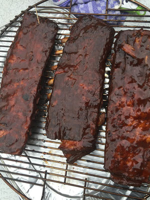 Ribs im St. Louis Cut für KCBS Events