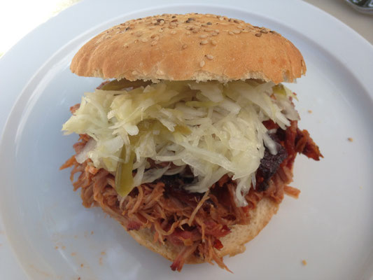 Pulled Pork-Burger