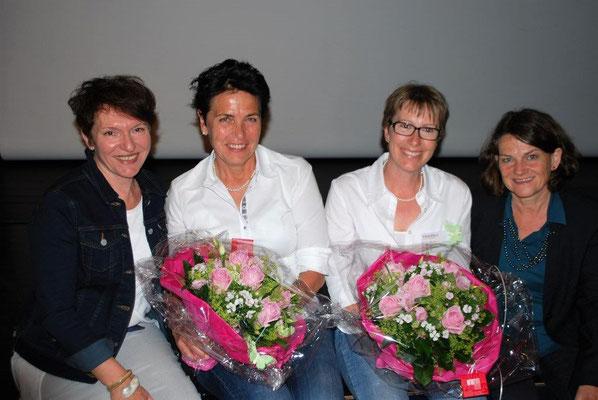 v.l.n.r. Jacqueline Kopp, Susanne Felber, Alice Scherer, Mirjam Müller-Bodmer