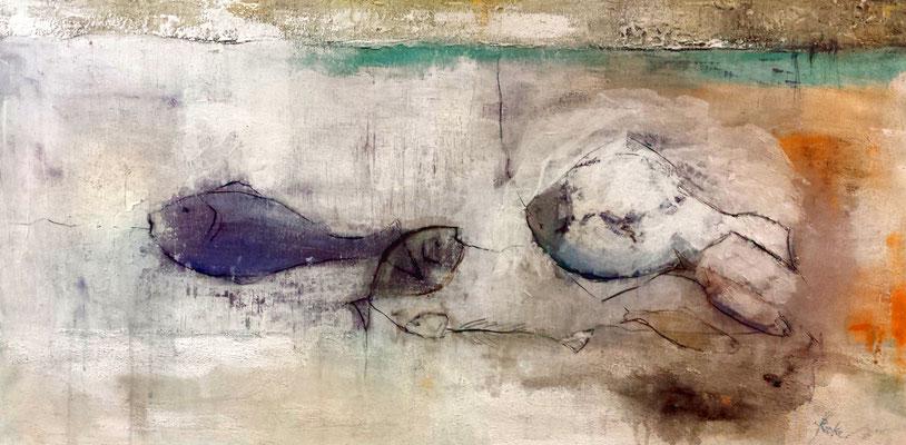 """""""Fischmarkt 1"""" - 120x60 cm"""
